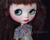 "OOAK Custom Blythe Doll Art Doll by helloblythe ""Claurice"" ~ Second Installment for P ~"