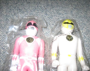 Vintage Power Rangers New In Plastic Bags