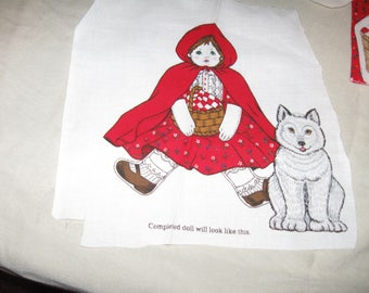Cranston Cut Out Once Upon A Time Little Red Riding Hood And The Big Bad Wolf