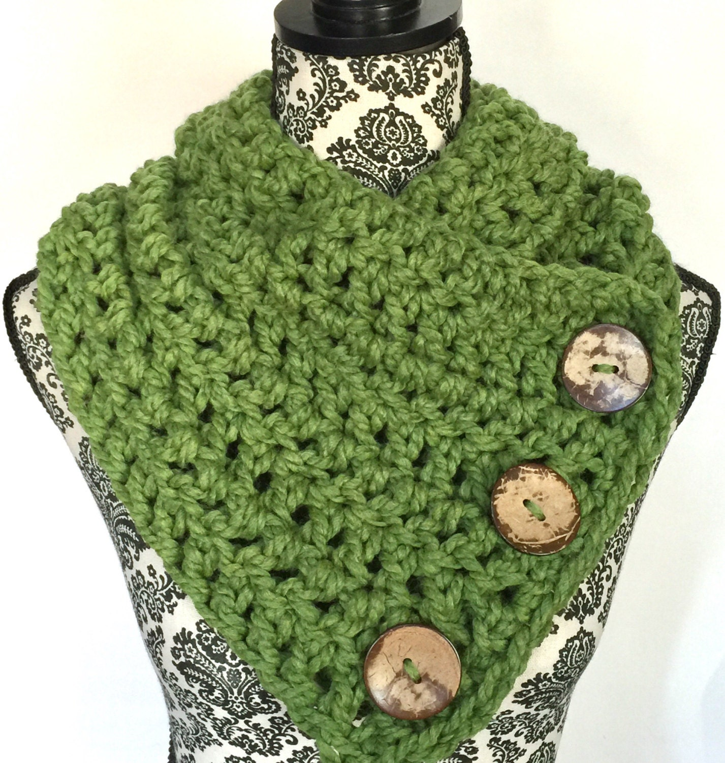 Boston Harbor Scarf in Willow - Shawls & Wraps - Shawls and Ponchos ...