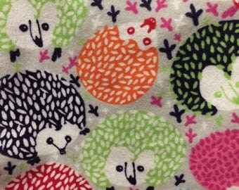 colorful hedgehogs - snuggle sack - hedgehogs, rats, guinea pigs and small animals