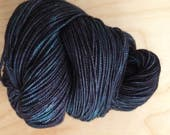 Van Gogh at Midnight 4th of July Creek Hand Dyed Sock Yarn - Moon Stone Farm