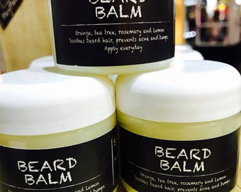 Beard Balm for softer and smooth facial hair