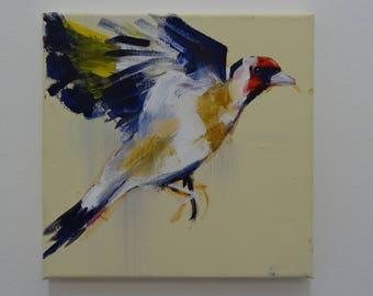 Goldfinch Flight