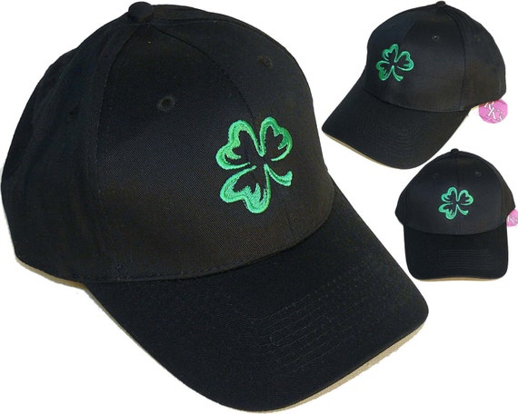 shamrock baseball hat twill cap st s day monogram