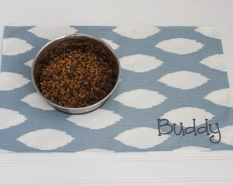 Personalized Pet Gift - Pet Food Placemat - Custom Dog Cat Mat - Personalized and available in ALL SIZES