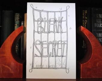 BLEAK SECRET minicomic/zine