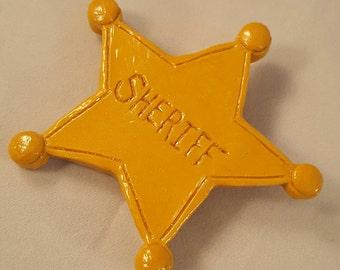 Woody's Sheriff Badge