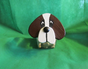 Saint Bernard Snack/Cookie Jar
