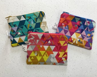 Mini zipper pouch Geometry
