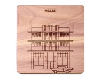 Miami Coaster - Marlin Hotel