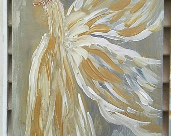 Golden Wings Painting