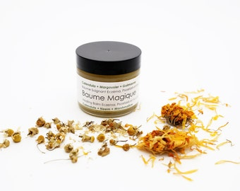 VEGAN Version Magic Balm. Face + Body Balm Eczema Psoriasis. Irritated Skin. Heal. Protect. Repair. Natural skincare. Organic Skincare 60ml