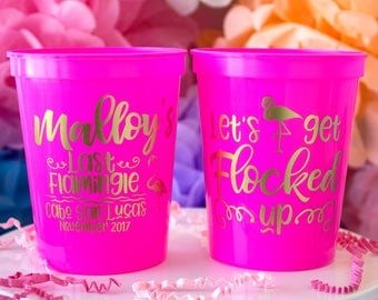 Bachelorette Party Cups, Bachelorette Cups, Personalized Cups, Bachelorette Tumbler, Bridal Party Cups, Bachelorette Gift, Plastic Cups