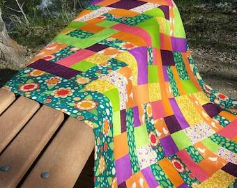 Yellow Brick Road Lap Quilt Kit