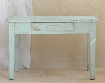 Charming Blue Table
