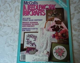 McCalls's Needlework and Crafts Magazine June 1988