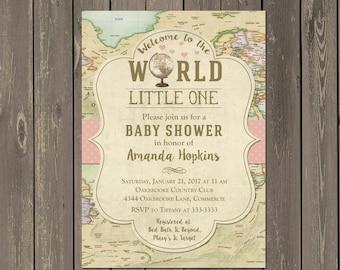 World baby shower Etsy