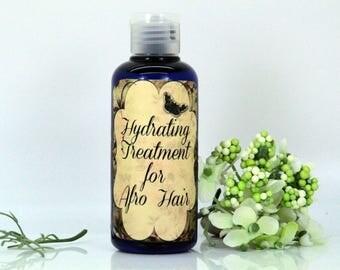 Hydrating treatment for afro hair, hair treatment, afro hair treatment, nourishing hair lotion, protecting hair lotion