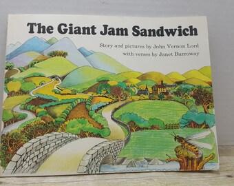 The Giant Jam Sandwich, 1972, John Vernon Lord, Janet Burroway, vintage kids book