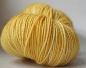 MERRI CREEK SOCK, 3 available, Honey Trap (pale), ~107g, Australian superwash merino yarn, 80/20 merino/nylon, hand-dyed