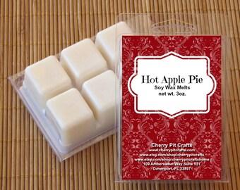 Hot Apple Pie Soy Wax Melts - Handmade Soy Wax Melts