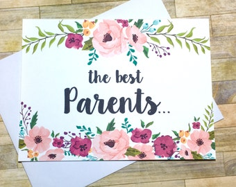 Pregnancy Reveal to Parents Card - Pregnancy Announcement Card - New Grandparents - We Are Having a Baby Card - I'm Prego Card - MULBERRY