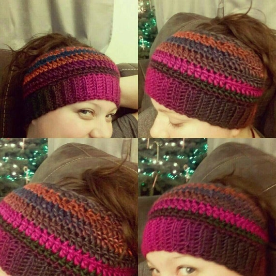 50% Off Ponytail Hat Crochet PATTERN by StandingStonesYarn on Etsy