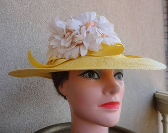 Yellow Daisy Hat
