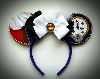 Captain Hook inspired Minnie Mouse Ears