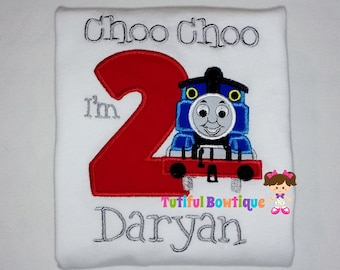 train theme birthday shirt, train theme birthday, train birthday shirt