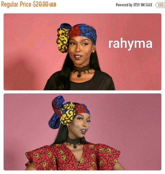 SALE African print head wrap african clothing