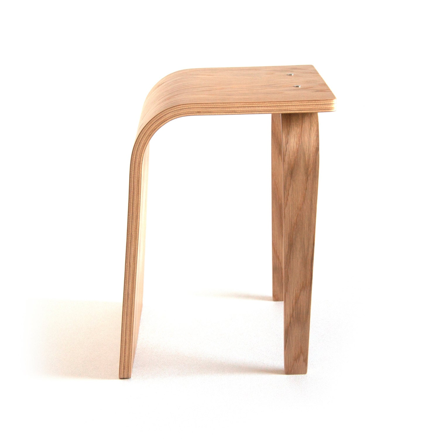 Stool Bent Plywood Wood Stool Wooden Stool Small Stool