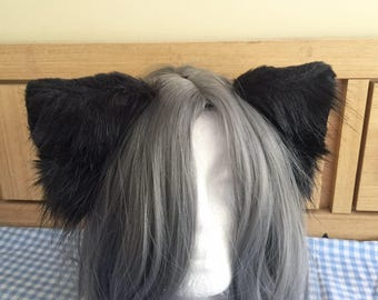 Black cat ears !