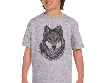 Wolf Face Etsy
