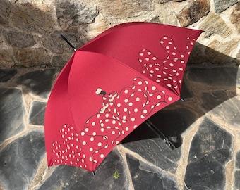 Paraguas flamenca Cayetana