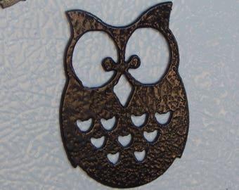 fridge magnets,owl,cat,chicken, sea horse,