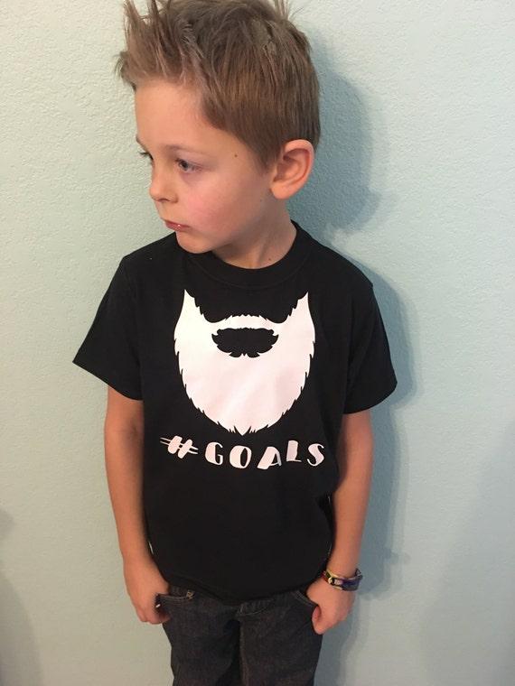 Beard Goals - Youth T-Shirt
