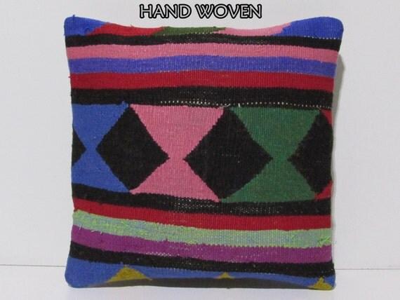 Quirky Floor Pillows : turkish rug pillow unusual decorative pillow rare throw pillow