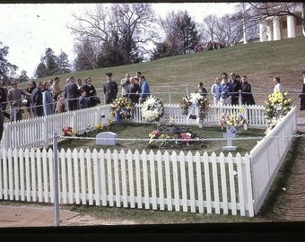 John Kennedy , Arlington National Cemetery in January of 1964.