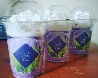 Lavender Bath Shake - Bath Shake - Whipped Soap - Bath Salts - Herbal Bath Salts - Fluffy Soap - Soap Gift - Lavender Bath Salts - Lavender