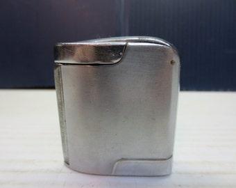 1947 Lektrolite Futura Pocket Lighter, Platinum Lighter, Platinum Catalytic Lighter