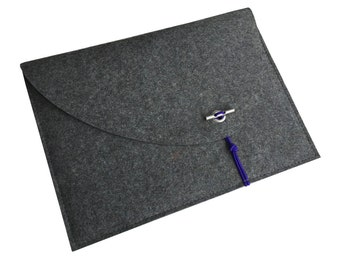 "13 inch MacBook felt bag, felt bag for Mac Air 13"", felt case, sleeve for MacBook Pro 13 / retina display, soft cover, Scandinavian Design"