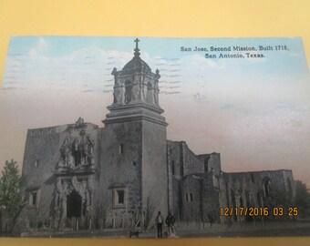 San Jose Mission TX