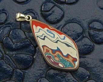 Rare Kenworth Fordite Pendant from Seattle, WA