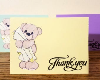 Baby Shower Thank You Card Set