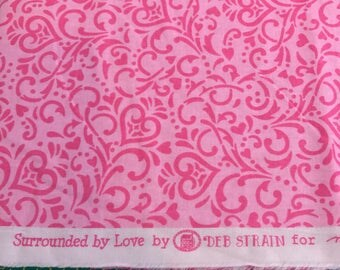 Surrounded by Love by Deb Strain for Moda Fabrics - 19653 12, 1 1/4 yards