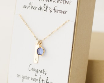 Gift for New Mom - New Mom Gift - New Mom Jewelry Necklace - New Mother