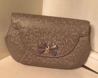 Vintage Mark Cross Evening Clutch Bag