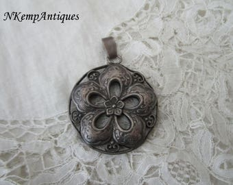 Old pendant double sided